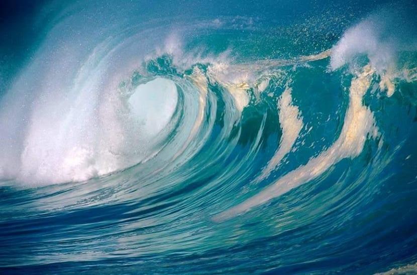Partes de una ola