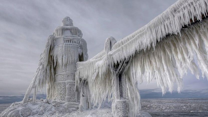 Tormentas de hielo en Estados Unidos