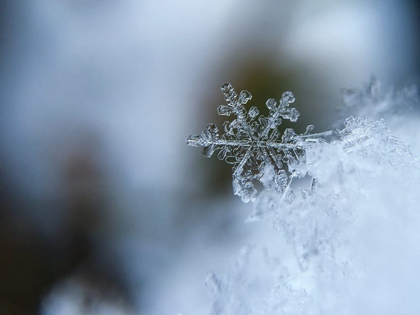 geometría de los cristales de hielo