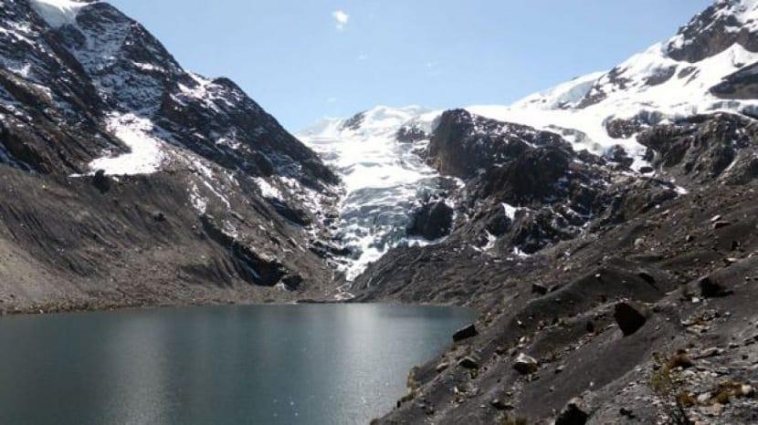 lagos glaciares y su derretimiento