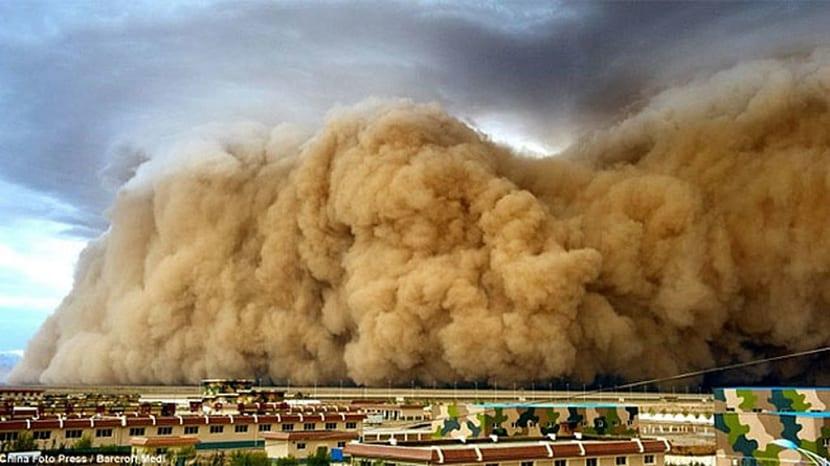tormentas de arena