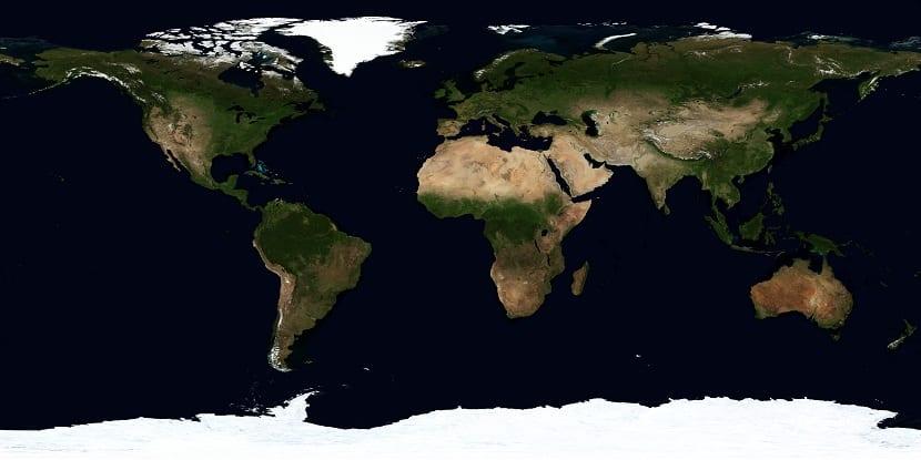 Actual situación de los continentes
