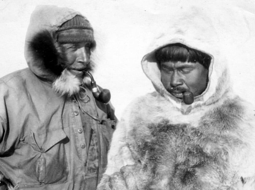 Alfred Wegener de expedición