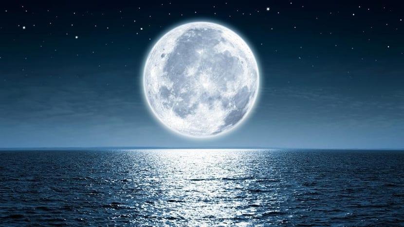 Luna en agosto