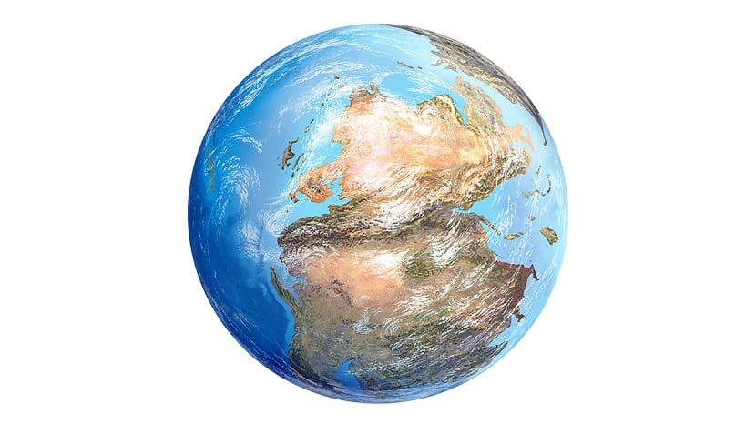 Pangea supercontinente