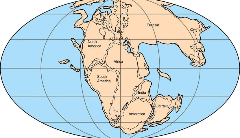 Teoría de la deriva continental