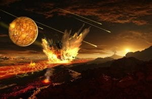 Tiempo geológico origen de la Tierra