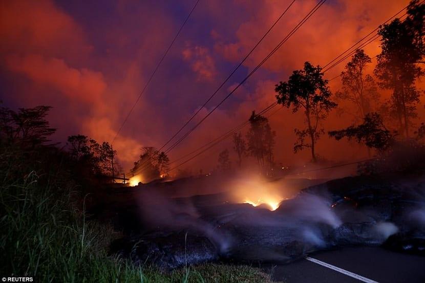 Paso de la lava
