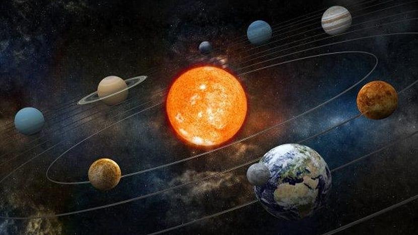 Órbita del sistema solar