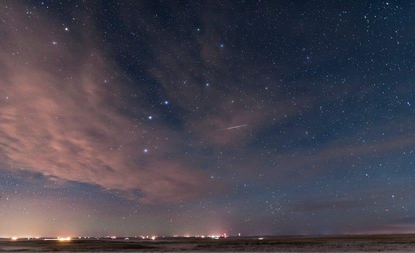 Constelaciones en el cielo