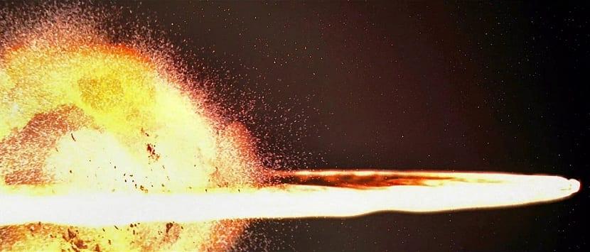 Explosión que creó el universo