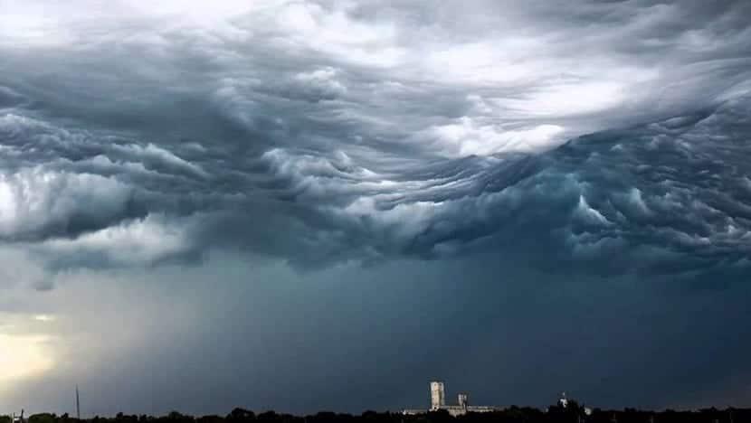 Formación de las nubes