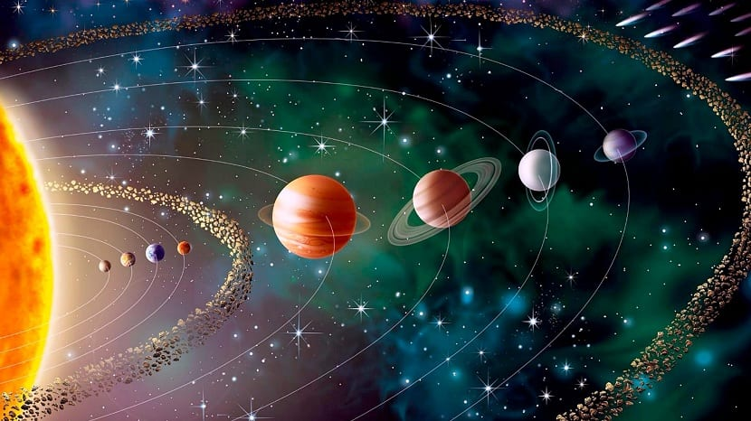 Resultado de imagen de sistema solar