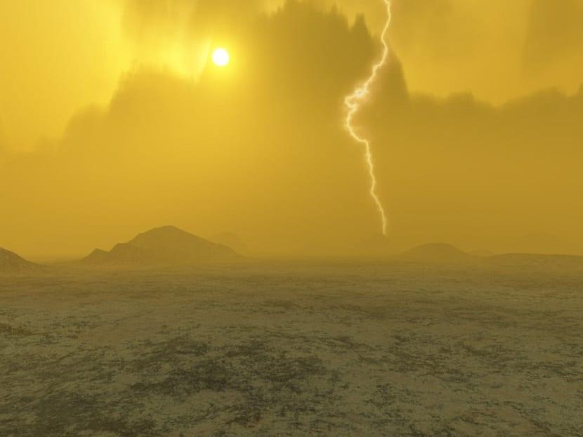 Atmósfera de Venus