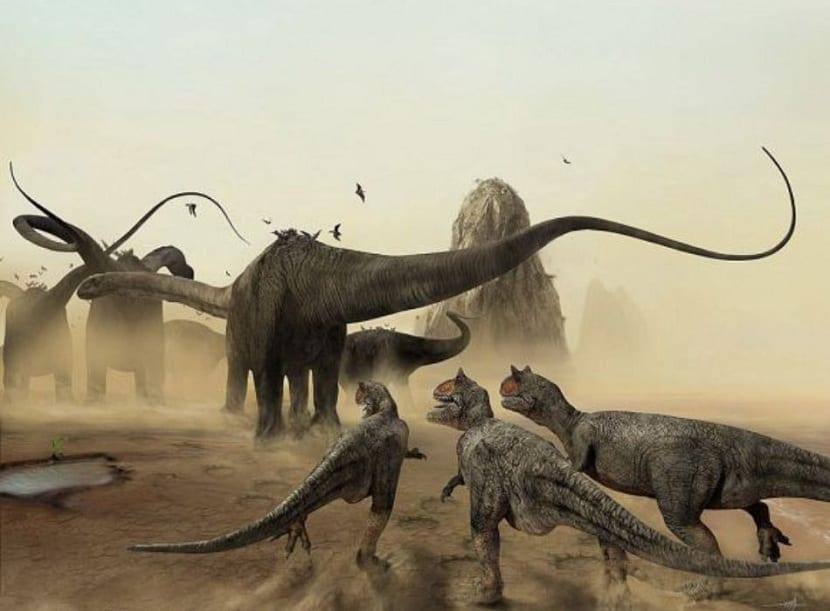 Desarrollo de dinosaurios