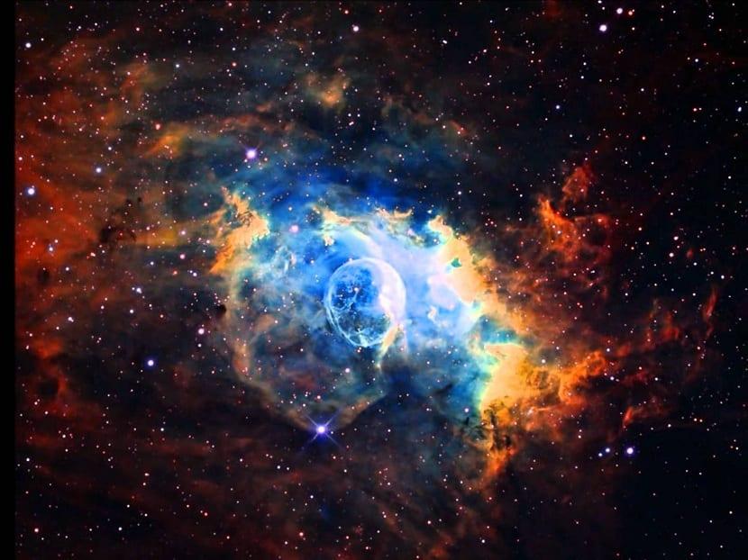 Nebulosas de dos tipos