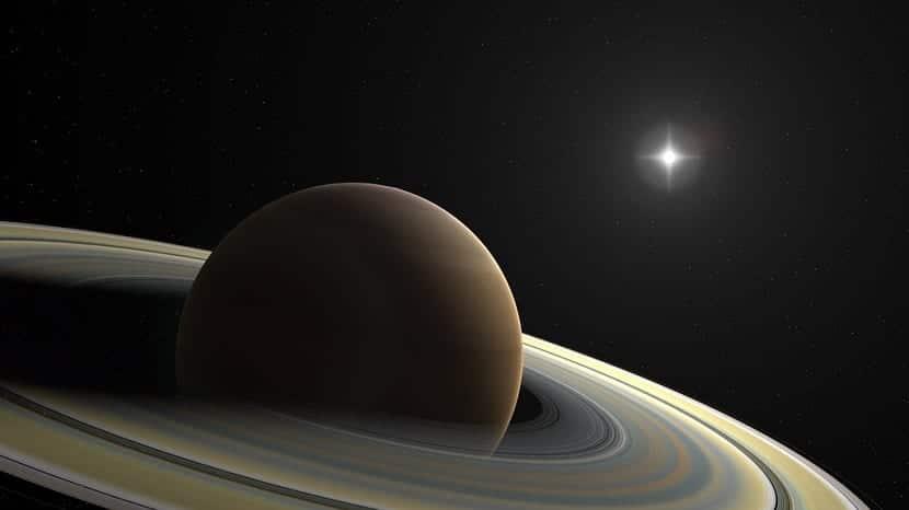 Satélites y lunas de Saturno