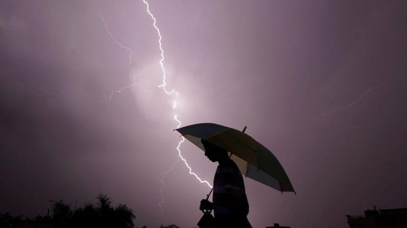 Daños de una tormenta electrica