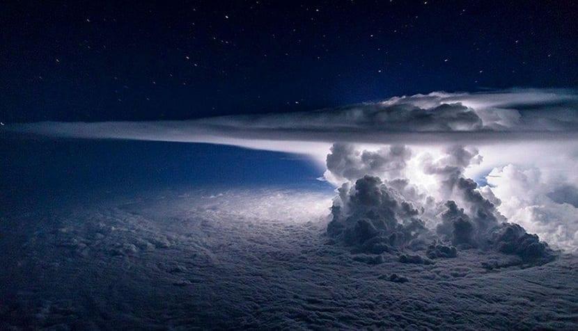 Formacion de tormentas electricas
