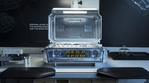 controlador del tiempo con el reloj atomico