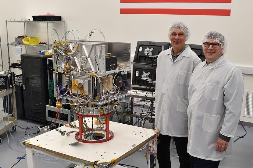 reloj atomico de la NASA