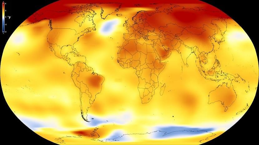 temperaturas en todo el mundo