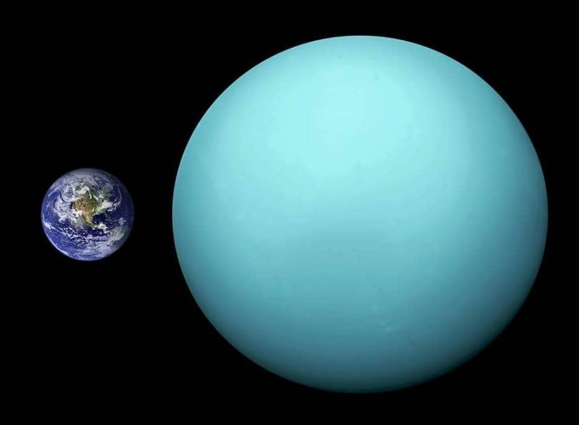 tamaño de jupiter con respecto a la Tierra