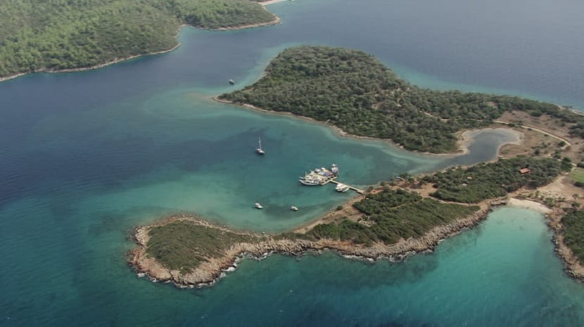 costas del mar Egeo