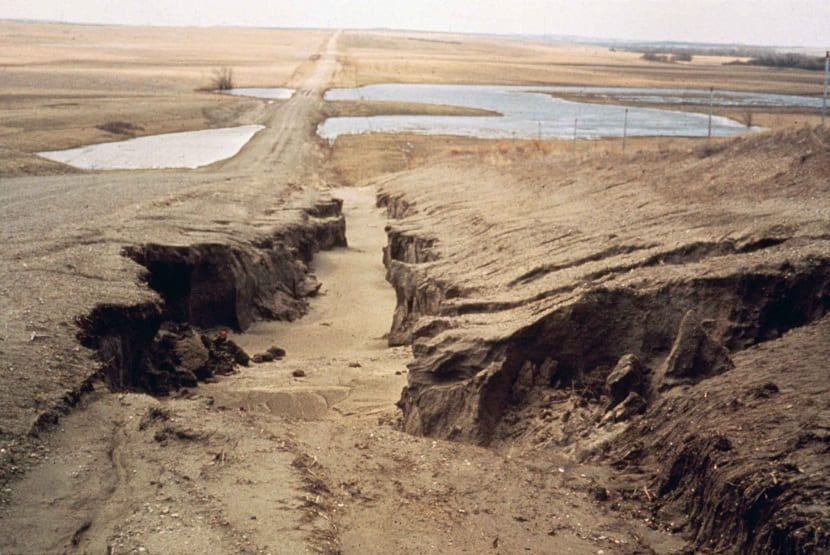 erosion de la tierra
