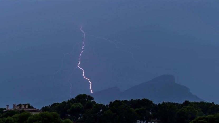 lluvias y tormentas por DANA