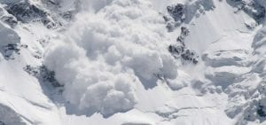 tipos de avalanchas de nieve
