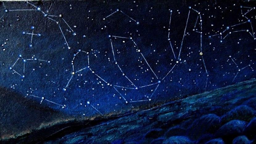 visualización de constelaciones