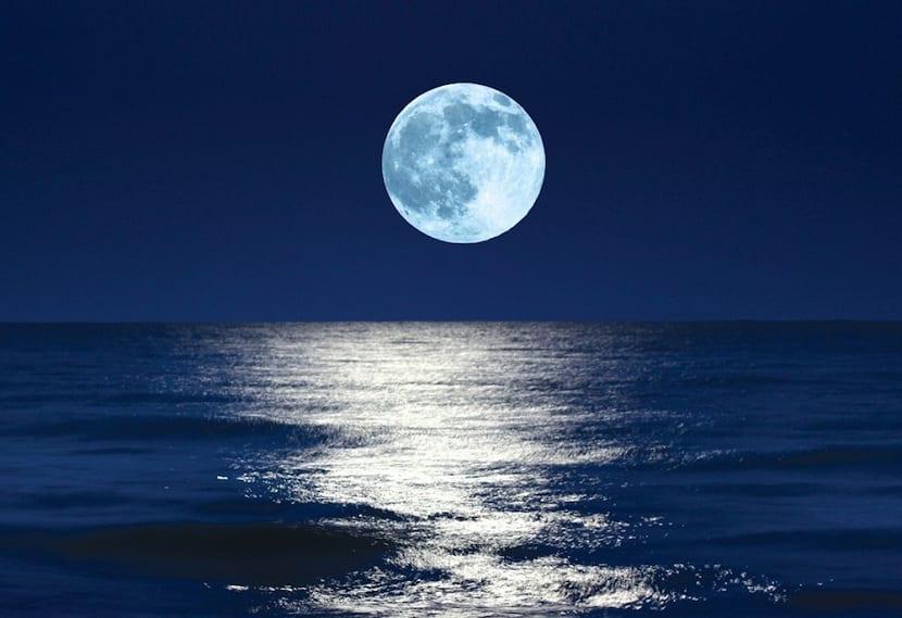 Acción de la luna sobre las mareas
