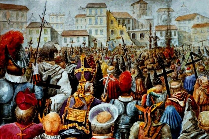 Muerte en la hoguera de Giordano Bruno