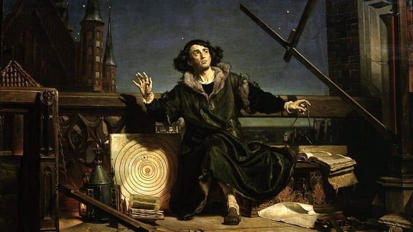 Nicolás Copérnico y sus observaciones