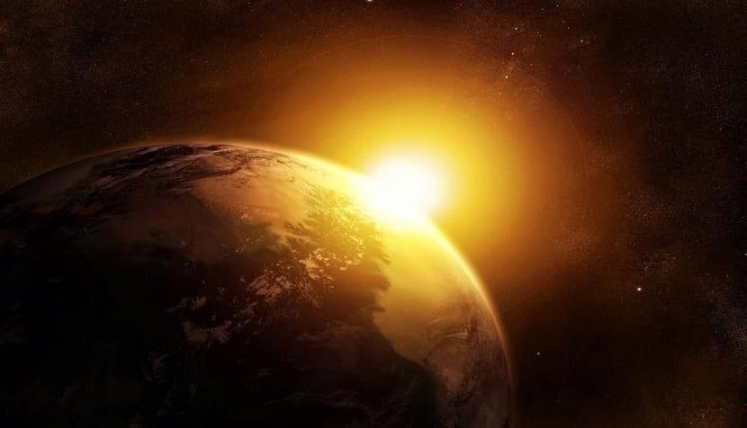 Posición de la Tierra en su órbita