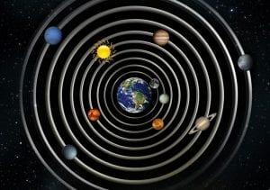Tierra centro del universo
