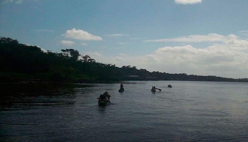 paseos en barca en Orinoco