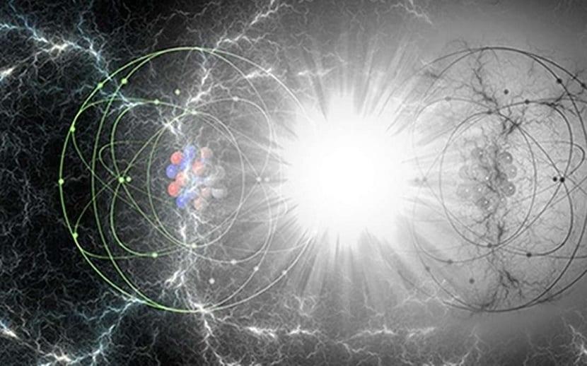 Caracteristicas de la antimateria