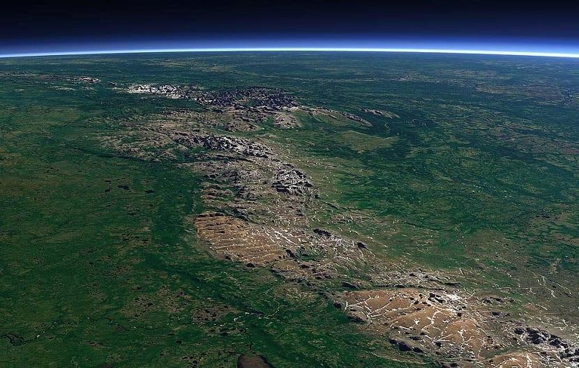 Cordillera completa de los Urales