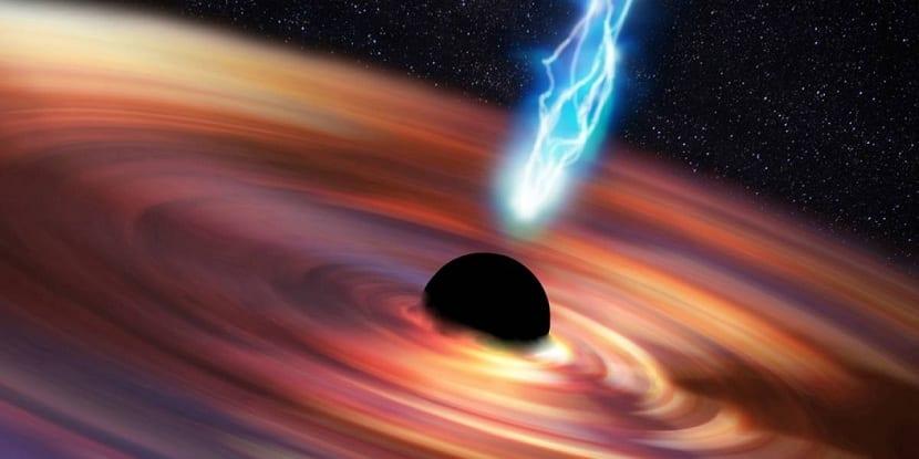 Dinámica del agujero negro