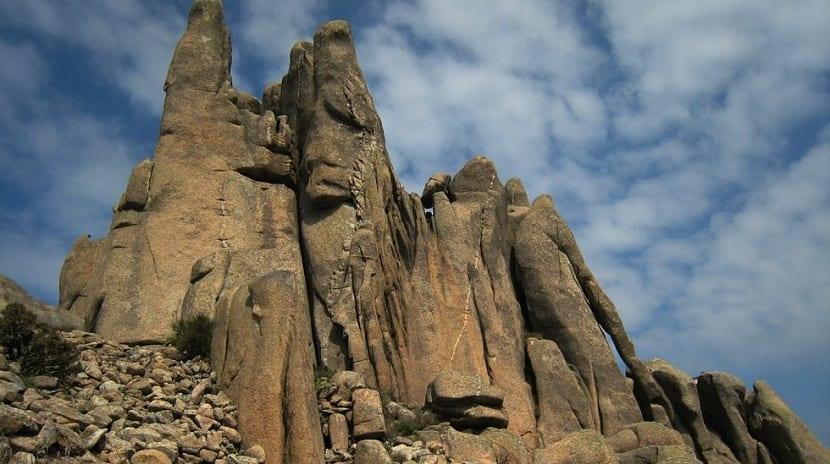 Macizo granítico de O Pindo