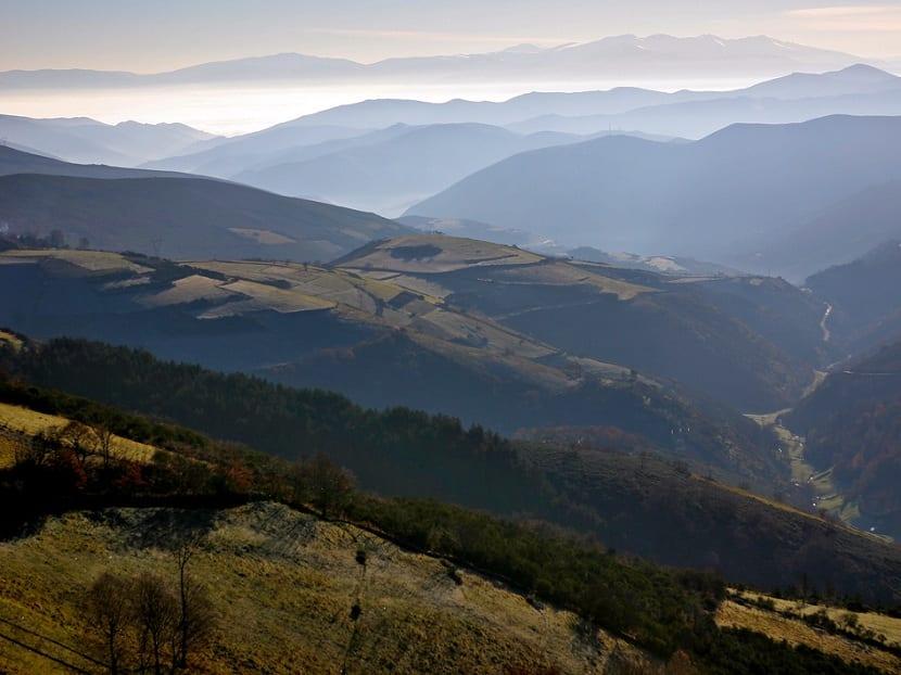 Características de los Montes de León