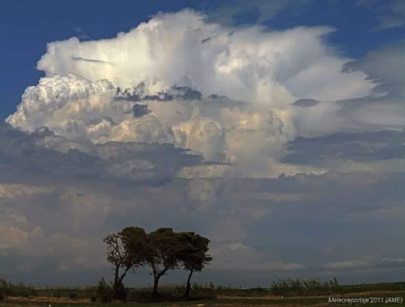 Convección en meteorologia