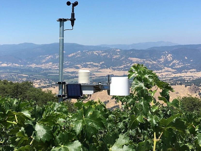 Estación de medida de la evapotranspiración