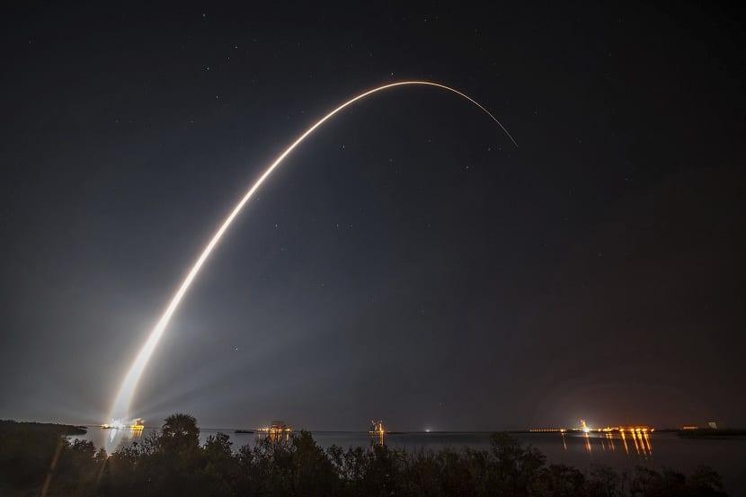 Lanzamiento del Satélite GOES