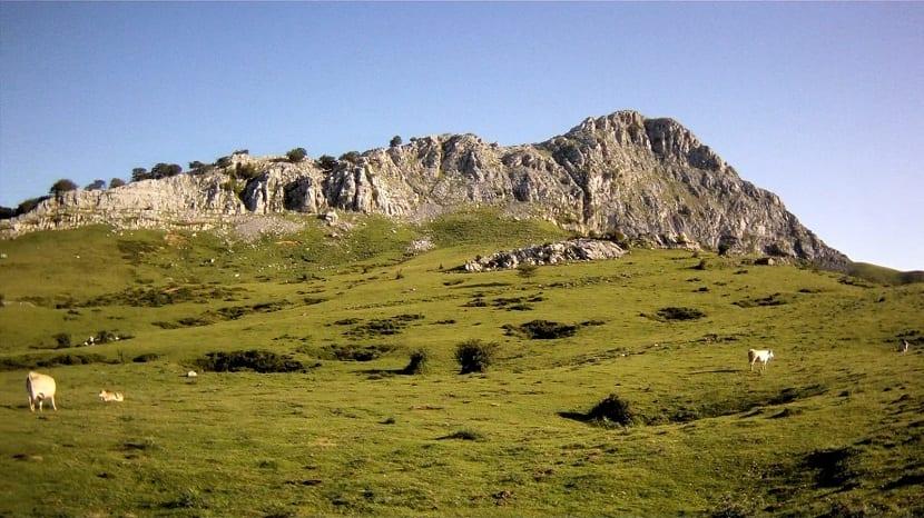 Paisajes de los montes Vascos