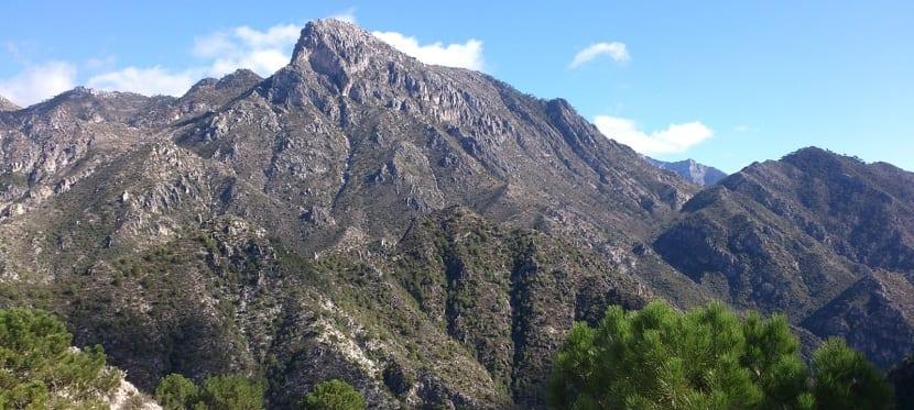 Picos del Montes de Málaga