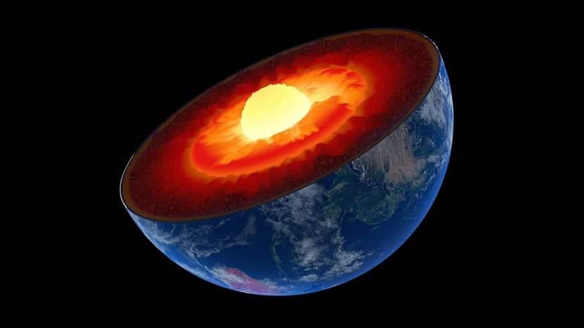 Cómo seria el núcleo interno