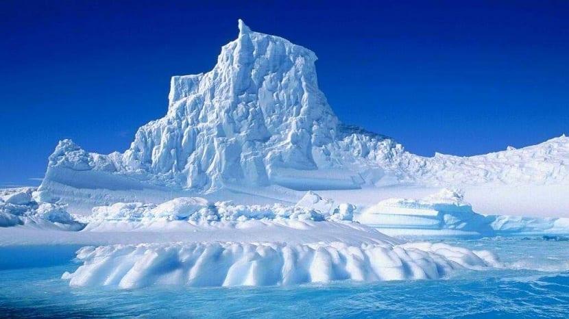 Casquetes de la Antártida